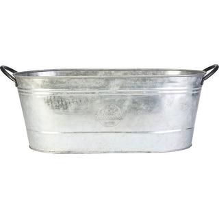 Oval Washtub Planter