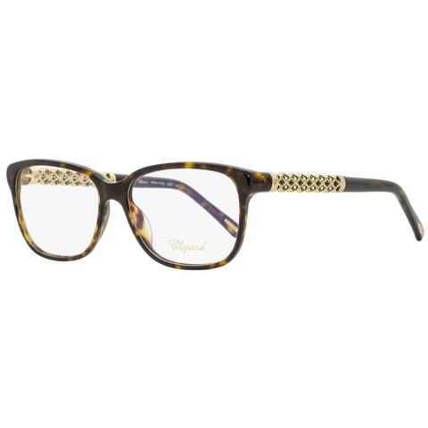 Chopard VCH181S 0722 Womens Shiny Havana/Gold 53 mm Eyeglasses - Shiny Havana/Gold