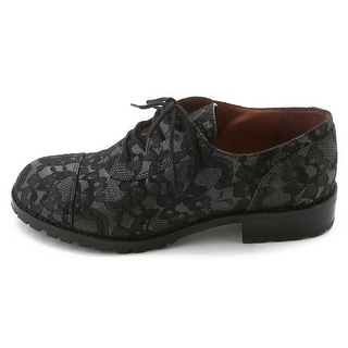 Marc by Marc Jacobs Womens 636255 Lace Round Toe Oxfords