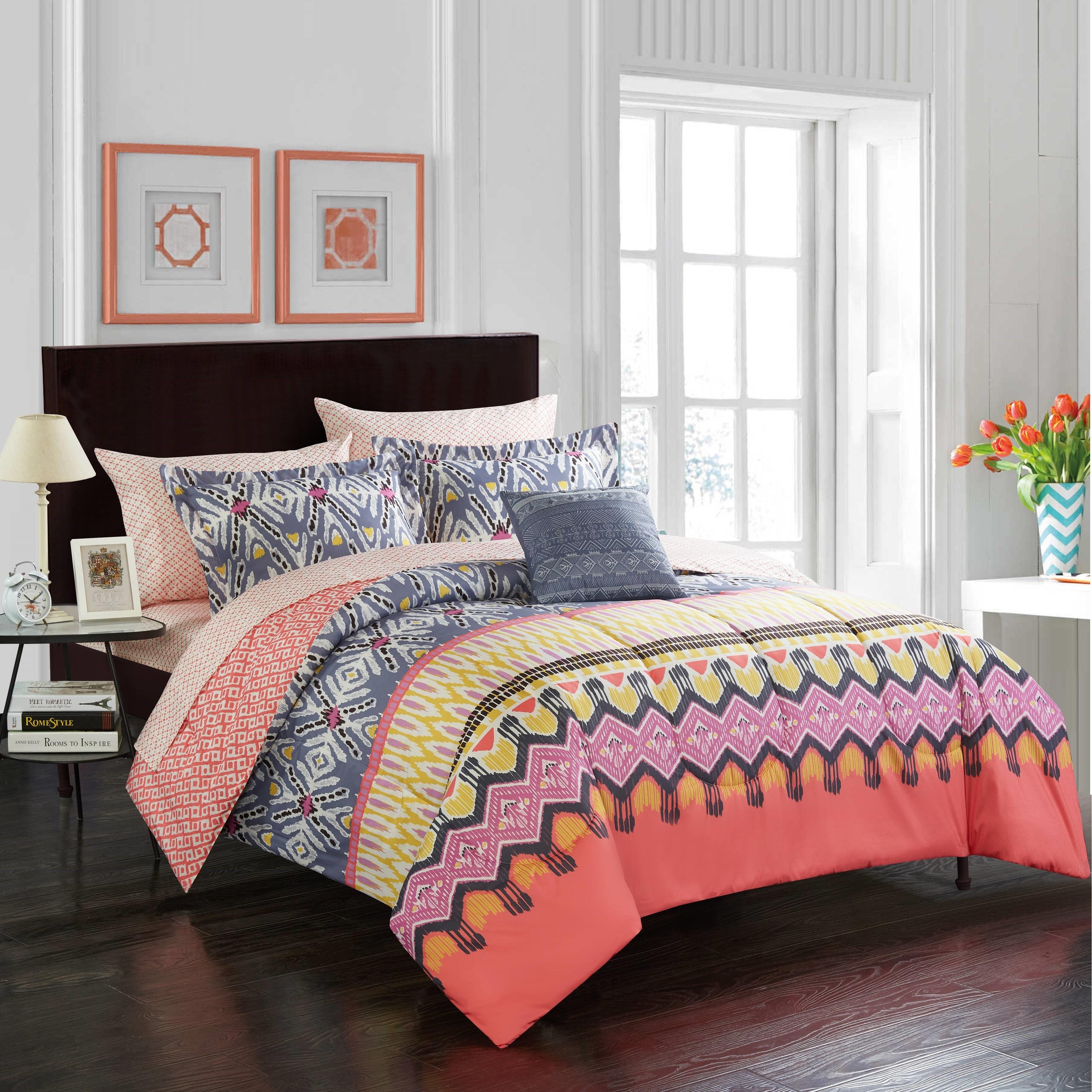 Boho Kamali Comforter Set Overstock 31634604