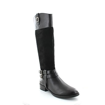 INC International Concepts Womens FAHNEE Leather Closed Toe Knee High Riding ...