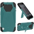 Insten Hard PC/ Silicone Dual Layer Hybrid Case Cover with Stand For HTC Desire 530 - Thumbnail 1