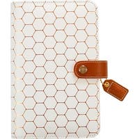 """Copper Hexagon - Color Crush Faux Leather Personal Planner Binder 5.25""""X8"""""""