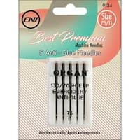 Size 75/11 - Anti Glue Needles 5/Pkg