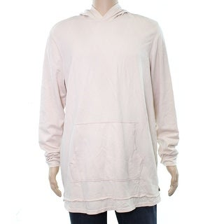 American Rag Pearl Blush Pink Mens Size Large L Hooded Sweater