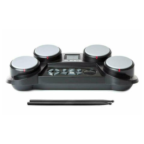 Alesis Ultra-portable Electronic 4-Pad Tabletop Drum Kit -CompactKit 4
