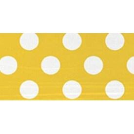 "Sunflower Yellow Decorative Dots - Round Plates 9"" 8/Pkg"