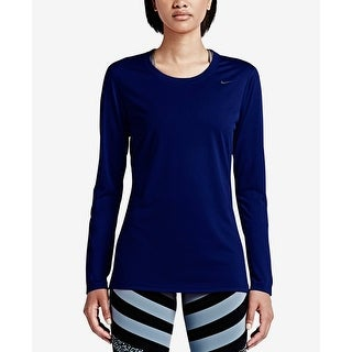 Nike Legend Women's Dri-FIT Training Top Blue Size Extra Large - XL
