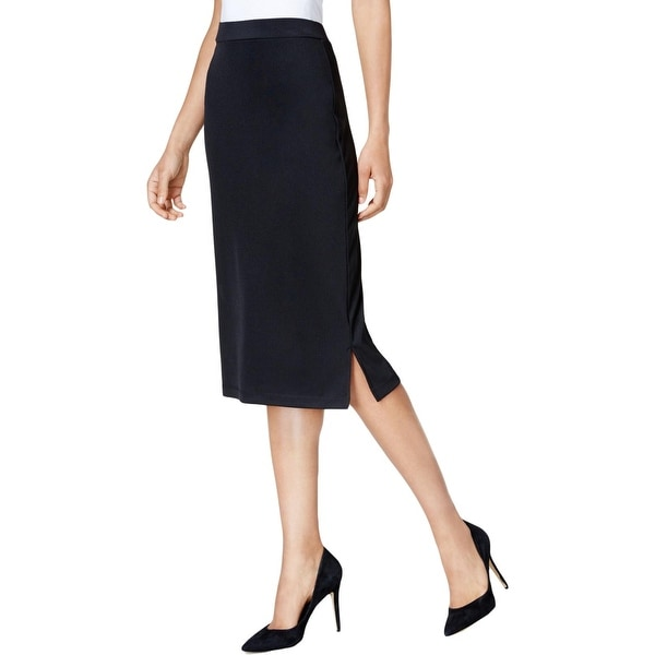 4bd9c69a707df Shop Kasper Womens Straight Skirt Knit Midi - Free Shipping On Orders Over   45 - Overstock - 26437663