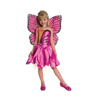 Rubies 218054 Barbie Deluxe Mariposa Toddler-Child Costume, Small