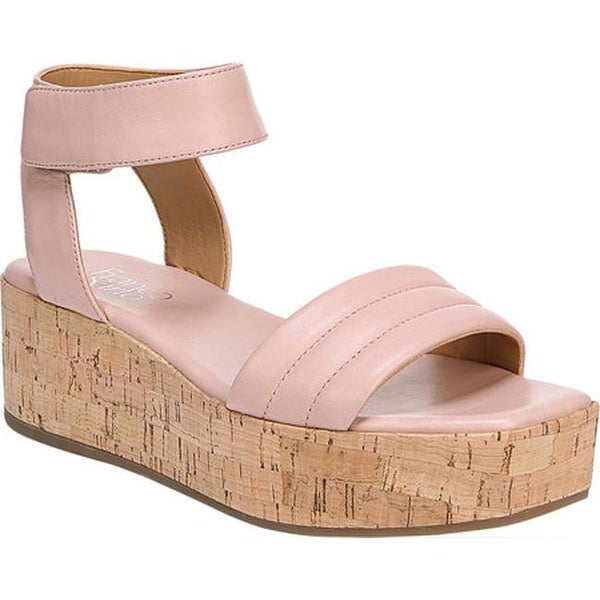 97ba1bd8297 Shop Franco Sarto Women s Ioli Platform Sandal Blush Sheep Leather ...