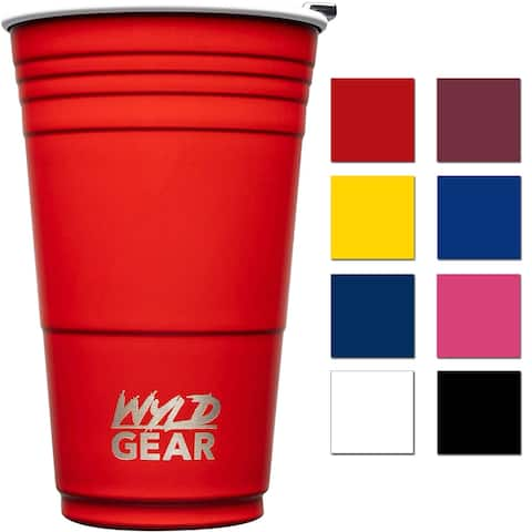 Wyld Gear 16 oz. Insulated Stainless Steel Party Cup Tumbler - 16 oz.