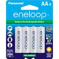 Panasonic Eneloop AA Size NiMH Rechargeable Battery BK-3MCCA4BA