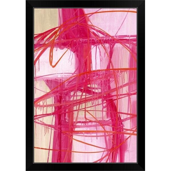 """""""Grand Gestures"""" Black Framed Print"""
