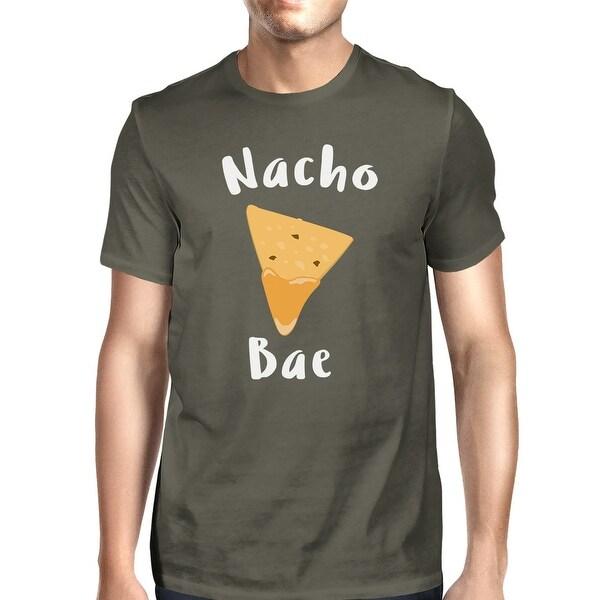 Nocho Bae Men's Dark Grey T-shirt Creative Anniversary Gift Ideas
