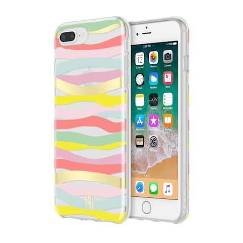 Incipio Oh Joy Protective Case for iPhone 8 Plus & iPhone 7 Plus/6 Plus/6s Plus - Multi Stripes