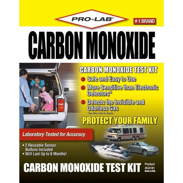 Pro Lab Carbon Monoxide Test Kit