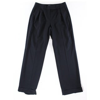 Tahari By ASL NEW Navy Blue Womens Size 16 Flared Trouser Dress Pants