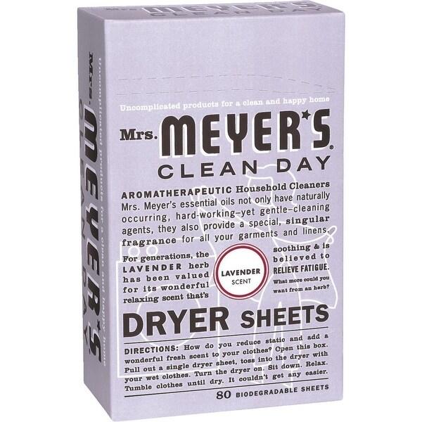 Mrs. Meyer's 80Ct Lavndr Dryer Sheets