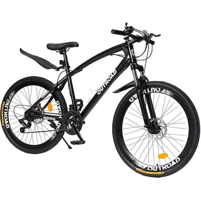 Fat Tire Mountain Bike 26 Inch Wheels Adult Bicycle