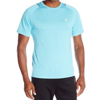 Champion NEW Blue Men Size Small S Vapor Technology Quick-Dry Athletic Shirt 155