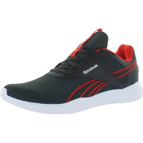 Reebok Mens Flexagon Energy TR 2.0 Running Shoes Fitness Performance - True Gray/Gray/Red
