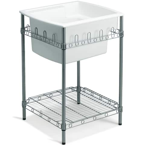 """Sterling 996 Latitude 25"""" Utility Sink with Stand"""