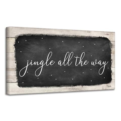 Ready2HangArt 'Jingle All the Way' Holiday Canvas Wall Art by Olivia Rose