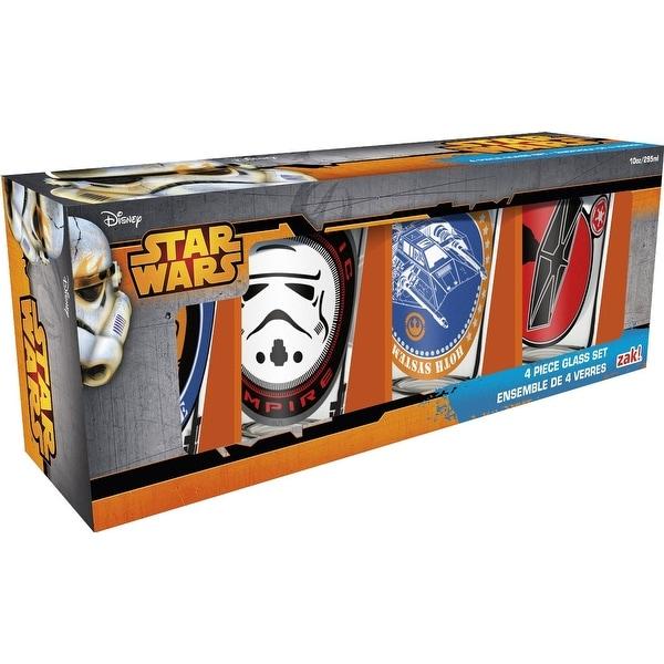 Star Wars 10 oz. Juice Glasses: Set of 4 - Multi