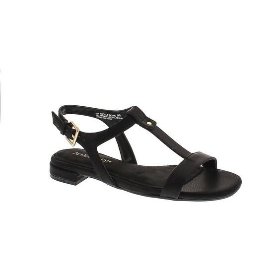 Aerosoles Women's Buckle Down Dress Sandal - Black