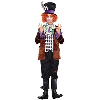Dreamgirl Hatter Madness Adult Costume - Multi