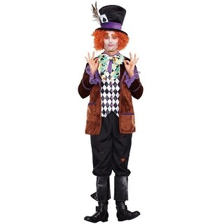 Dreamgirl Hatter Madness Adult Costume - Multi  sc 1 st  Overstock.com & Dreamgirl Costumes | Find Great Menu0027s Clothing Deals Shopping at ...