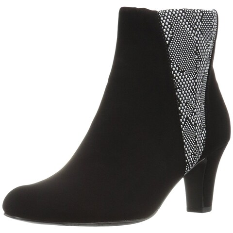Easy Street Womens Endear Almond Toe Ankle Fashion Boots