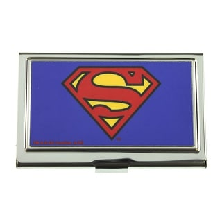 Superman Logo Business Card ID Case - One Size Fits most