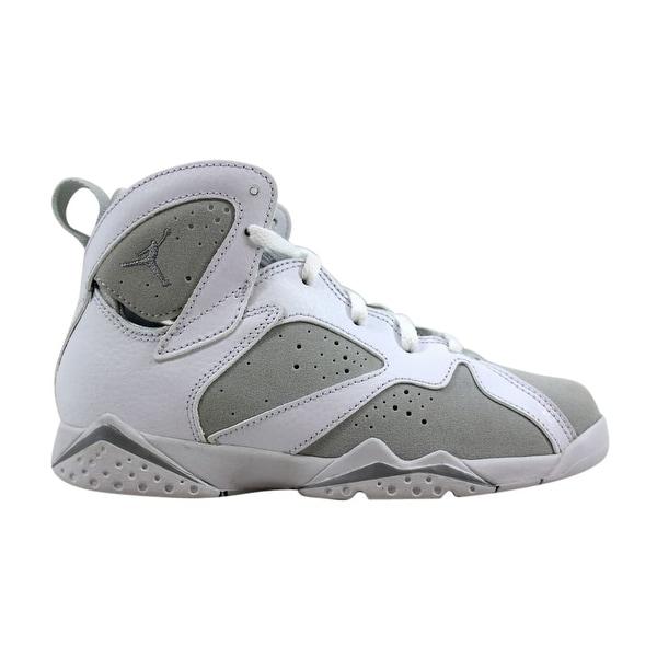 huge discount 814ee 4356a Shop Nike Pre-School Air Jordan VII 7 Retro BP White ...