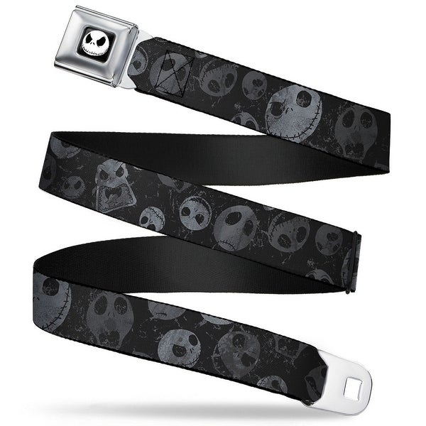 Jack Expression3 Full Color Nightmare Before Christmas Jack Expressions Seatbelt Belt