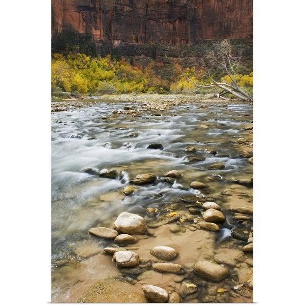 """Virgin River, Zion National Park"" Poster Print"