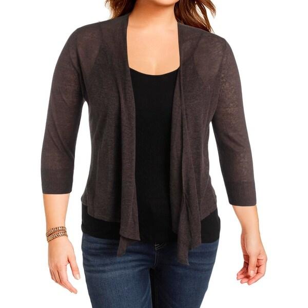 Shop Nic Zoe Womens Cardigan Sweater Linen Four Way Free
