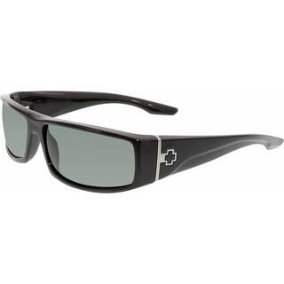 Spy Men's Cooper 670195038863 Black Rectangle Sunglasses