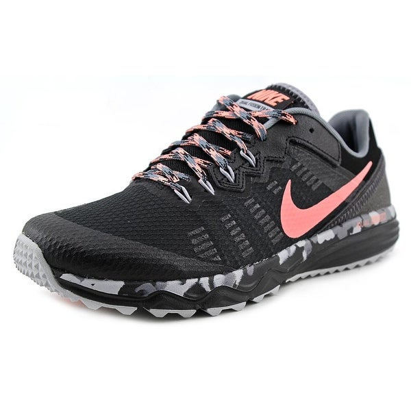 Nike Dual Fusion Trail 2 Women Round Toe Synthetic Black Trail Running
