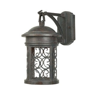 "Designers Fountain 31111-MP 1 Light 7"" Wall Lantern from the Dark Sky Barrington Collection"
