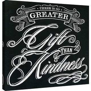 "PTM Images 9-101004  PTM Canvas Collection 12"" x 12"" - ""Honest Words - Kindness"" Giclee Sayings & Quotes Art Print on Canvas"