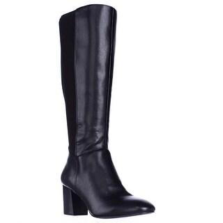 BCBGeneration Dice Knee High Dress Boots, Black