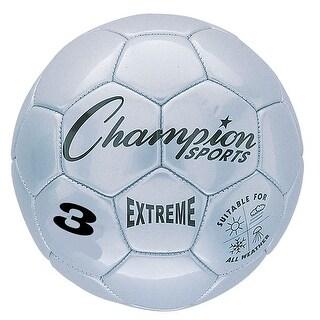 Soccer Ball Size3 Composite Silver