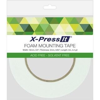 """X-Press It Double-Sided Foam Tape 18mm-.75""""X4.4yd"""
