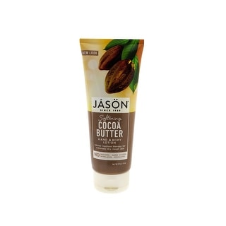 Jason Pure Natural Hand & Body Lotion 8 Ounce Softening Cocoa Butter