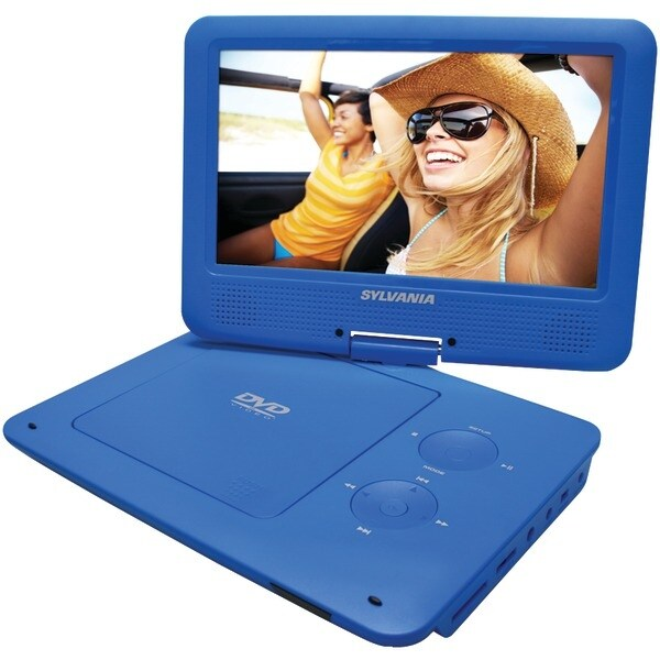 """Sylvania Sdvd9020B-Blue 9"""" Portable Dvd Players With 5-Hour Battery (Blue)"""