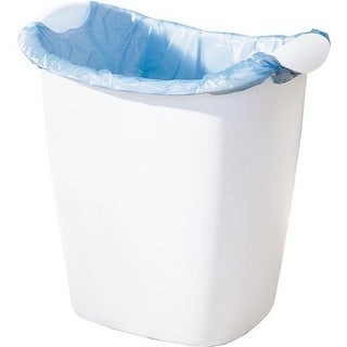 Rubbermaid Home 14Qt White Wastebasket FG238500WHT Unit: EACH