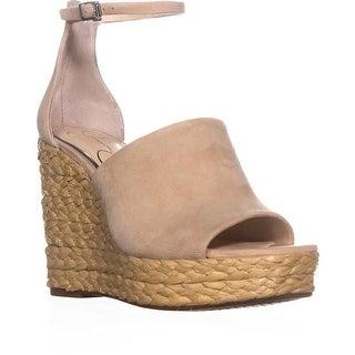 Jessica Simpson Suella Espadrilles Wedge Sandals, Sand Dune