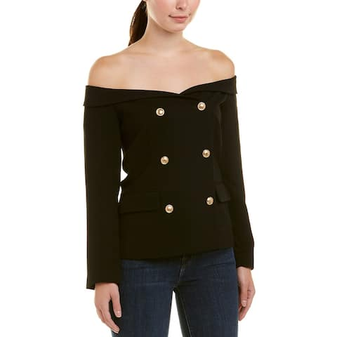 Bardot Off-The-Shoulder Blazer